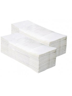 Miękki Biały Ręcznik ZZ 2 warstwy Katron 3200