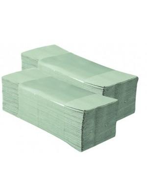 Ręczniki Składane w ZZ Zielony 4000 szt Karton